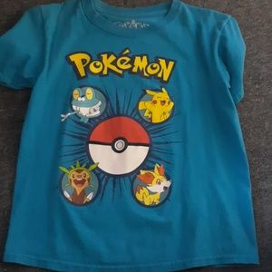 Boys pokémon tshirt